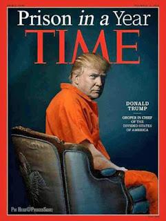 Lustiges Bild - Donald Trump im Knast