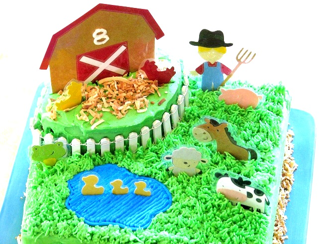 Super Barnyard Birthday Cake Gluesticks Blog Funny Birthday Cards Online Inifodamsfinfo