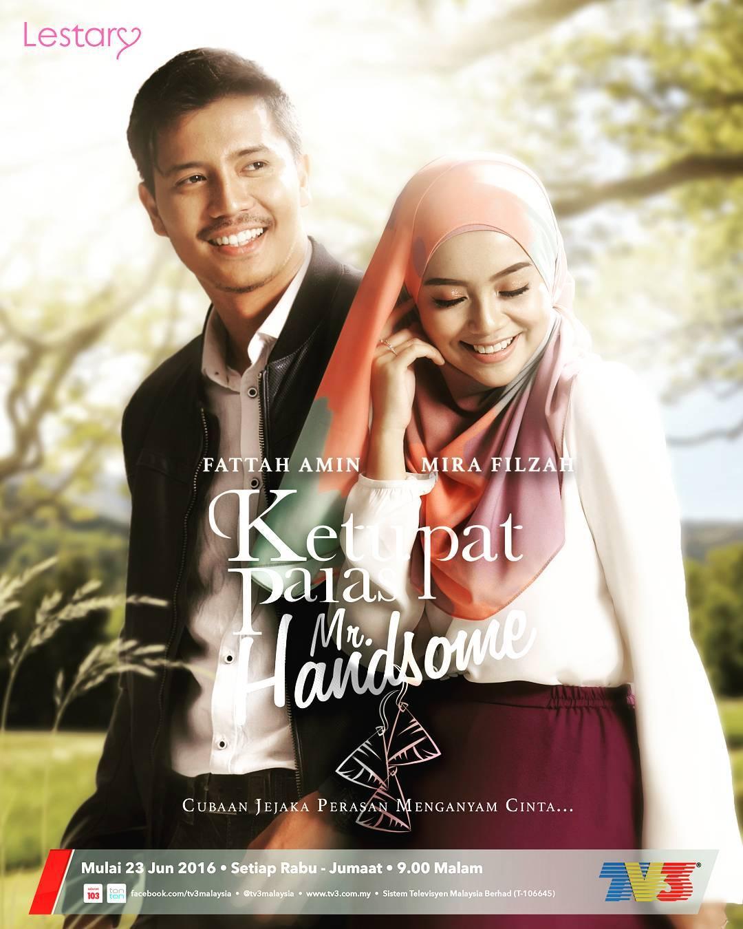Poster Ketupat Palas Mr Handsome