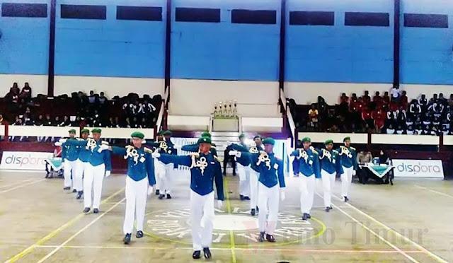 Lomba Pasukan Baris-Berbaris