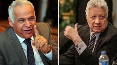 مرتضى منصور وفرج عامر