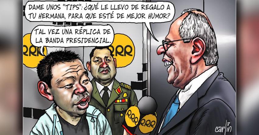 Carlincaturas Viernes 18 Agosto 2017 - La República