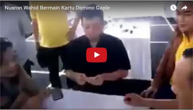 Heboh Video Nusron Bermain Kartu Domino Gaple, Netizen: Jadi ini Profil Pengkritik Tafsir Ulama?