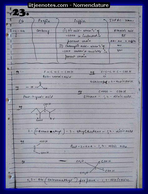 Nomenclature Notes7