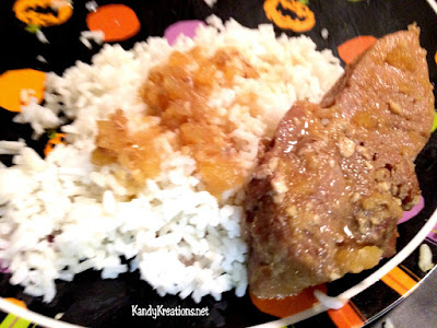 Have Man Meat Spareribs for Halloween dinner with this fun Halloween themed food idea