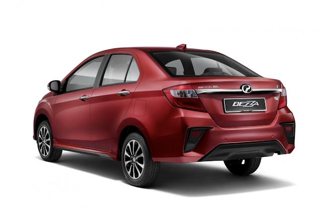 Perodua Bezza versi 2020 harga bermula RM34,580
