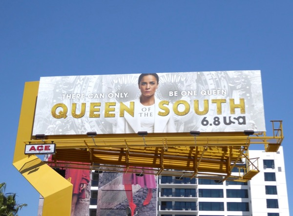 Alice Braga Queen of the South season 2 billboard