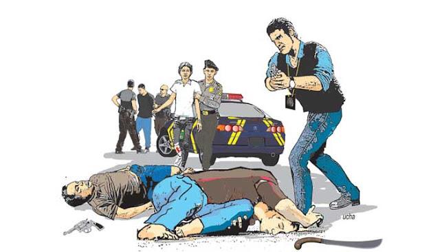 Pelaku Begal di 50 lokasi berbeda Di tembak Mati Polisi