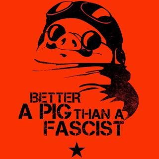 ファシストになるより豚のほうがマシさ
