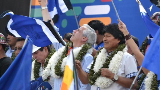 Morales pide identificar a enemigos internos coludidos con EEUU
