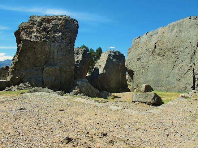 Q'enko, ruínas do antigo Império Inca, em Cusco no Peru