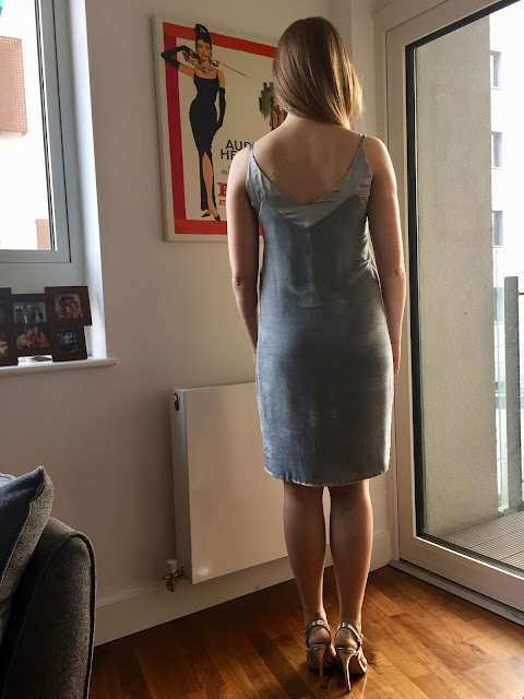 Diary of a Chain Stitcher: Velvet and Satin Ogden Slip Dress