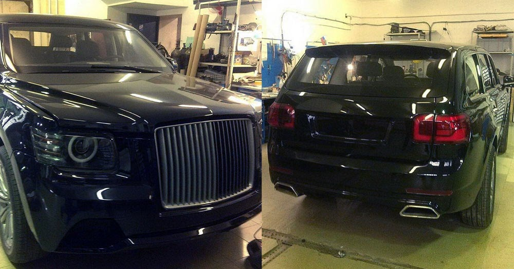 putin s russian state sedan limo and suv look eerily british. Black Bedroom Furniture Sets. Home Design Ideas