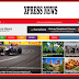 Xpress News Blogger Template Responsive Free Download
