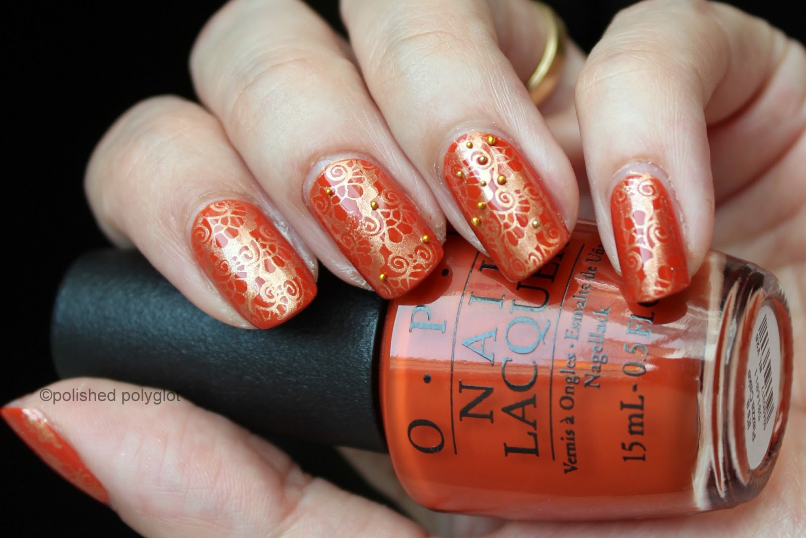Opi Venice Collection It S A Piazza Cake Swatch And