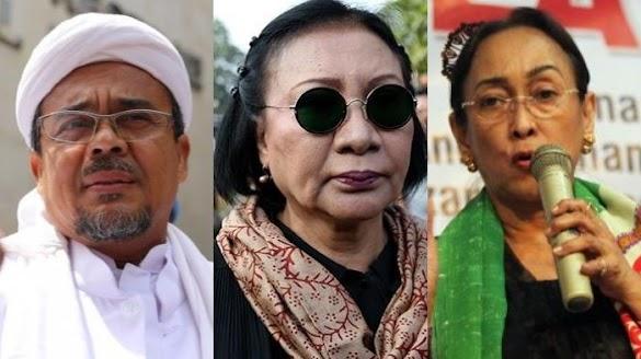 Soal SP3 Kasus Sukmawati dan HRS, Ratna Sarumpaet: Cuma Permainan Kotor Politik Rezim