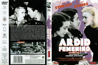 Carátula dvd: Ardid femenino 1938