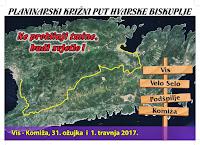 Biskupijski križni put Vis 2017. slike otok Brač Online