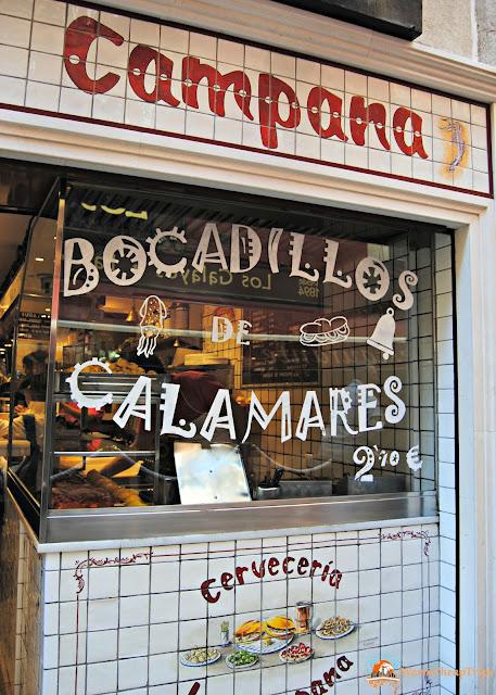 Madrid, dove mangiare a madrid, churros, jamon, montaditos, bocadillo de calamares, cibo a madrid, piatti spagnoli