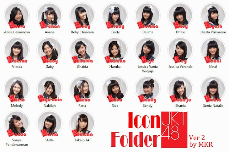 Icon Folder JKT48 Versi 2.0 by MKR