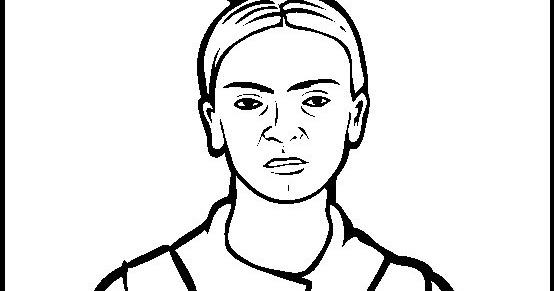 Dibujo Para Colorear De Frida Kahlo: Frida Kahlo Para Pintar