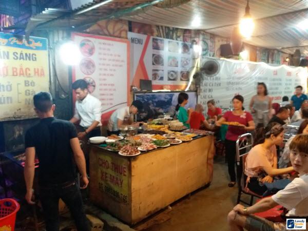 ทัวร์เวียดนามเหนือ ร้านอาหาร ซาปา
