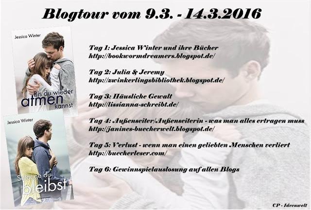 Blogtour Jessica Winter Bis du wieder atmen kannst solange du bleibst