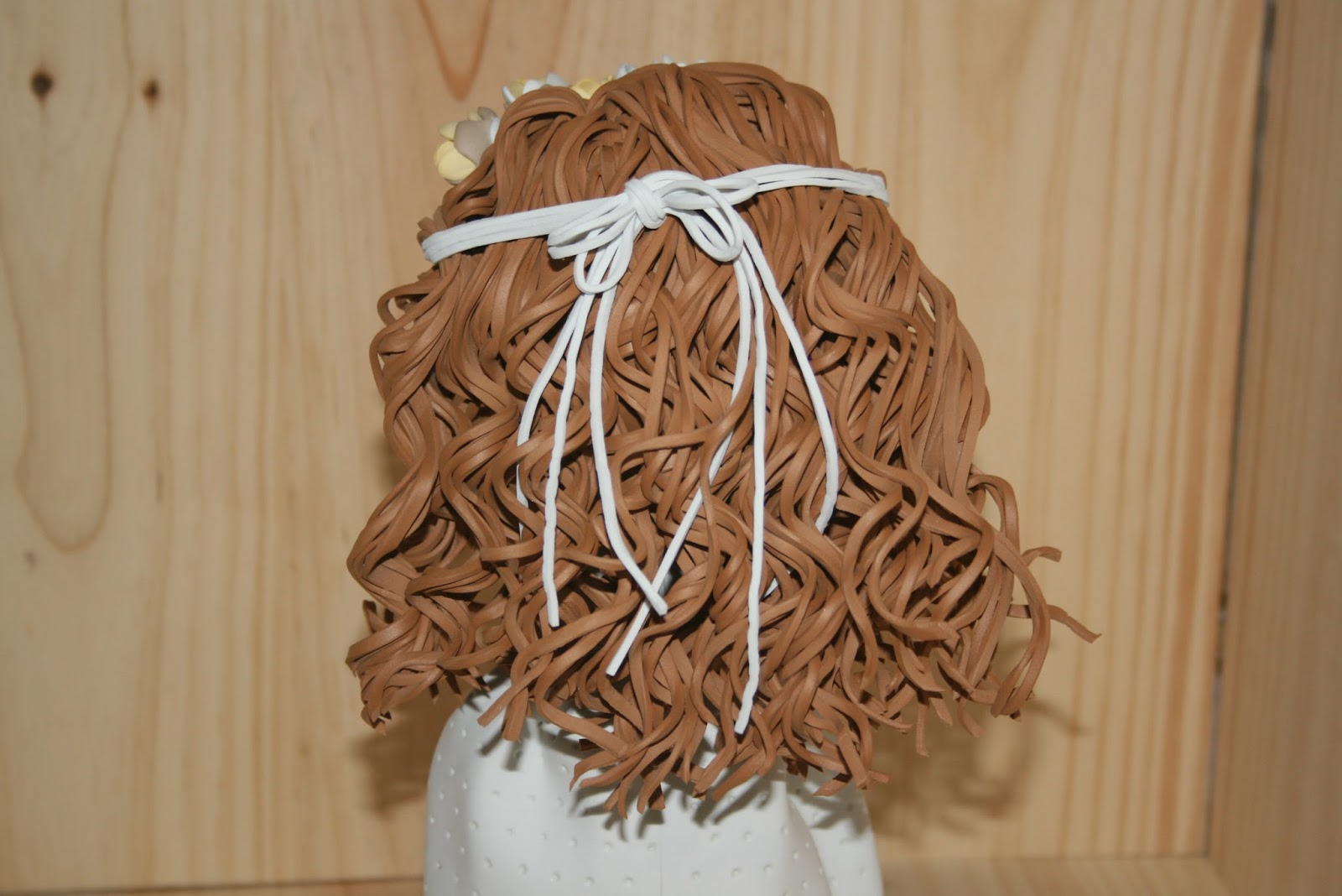 Como hacer pelo largo rizado para fofuchas