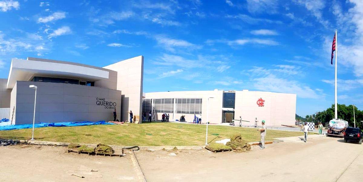 Veja fotos inéditas do novo Módulo do CT do Flamengo  148629a08943e