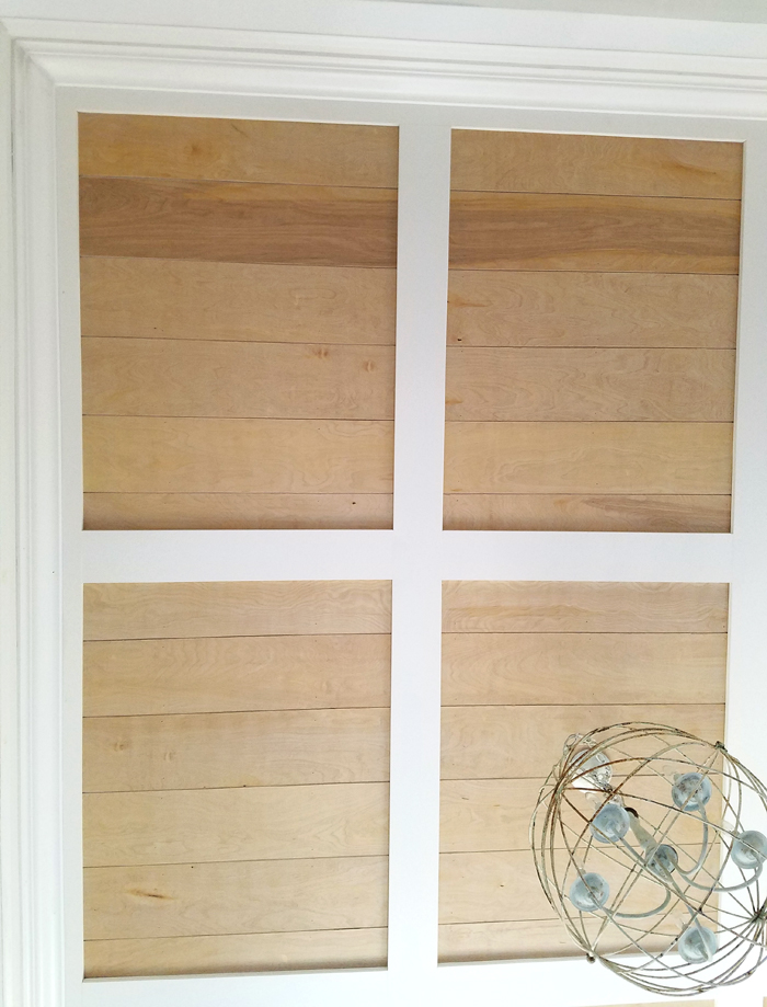how to install a coffered ceiling.