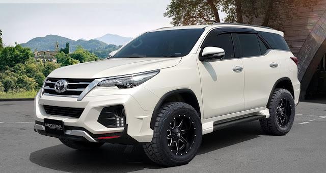 Toyota Fortuner với gói độ Vazooma