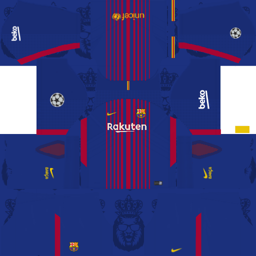 free shipping 7baad 37f14 Barcelona Nike Kits 2017/2018 - Dream League Soccer
