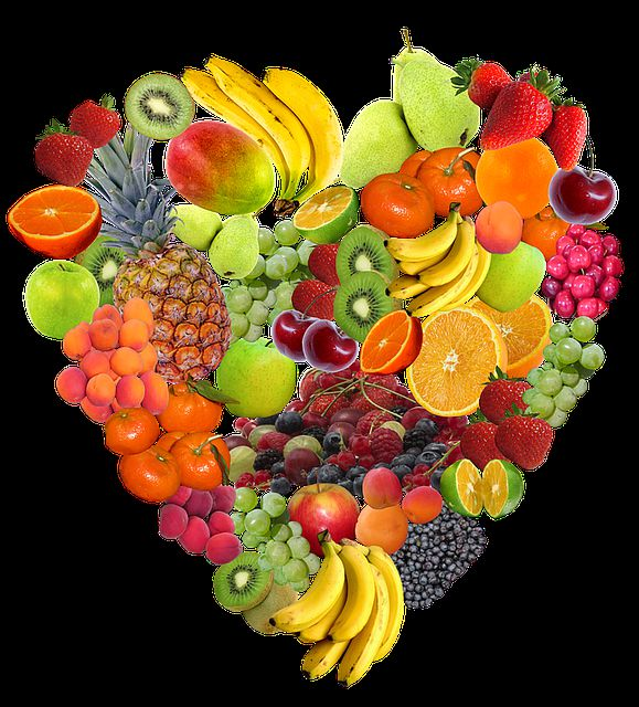 ilustrasi gambar buah jantung