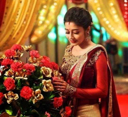 MODELS OF BLOUSE DESIGNS: Hindi Tv Actress Meethi Saree
