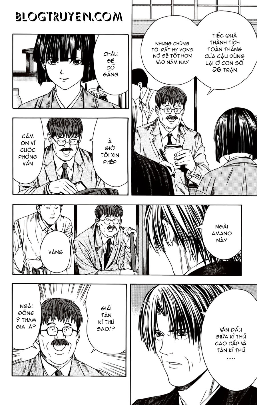 Hikaru No Go hikaru no go chap 98 trang 16
