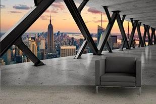 tasting lifestyle trompe l 39 oeil in huis. Black Bedroom Furniture Sets. Home Design Ideas