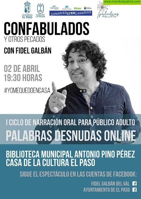 'Confabulamos y otros pecados' con Fidel Galbán - Mañana Jueves en Facebook