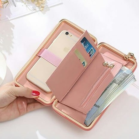 Dompet Multifungsi Jims Honey Rainbow Wallet