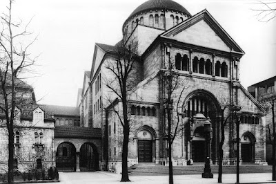 berlin synagogue fasanenstrasse 1916