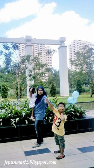 Birthday Party di Kiara Residence, Bukit Jalil