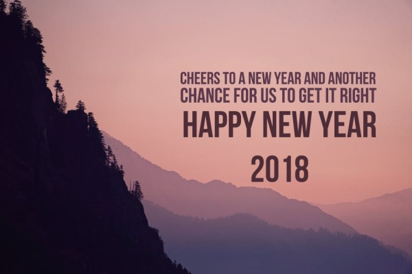 Welcome 2018 Good Bye 2017 New Year Images