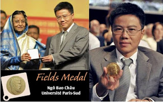 Giáo sư Ngô Bảo Châu nhận huy chương Fields tại Ấn Độ