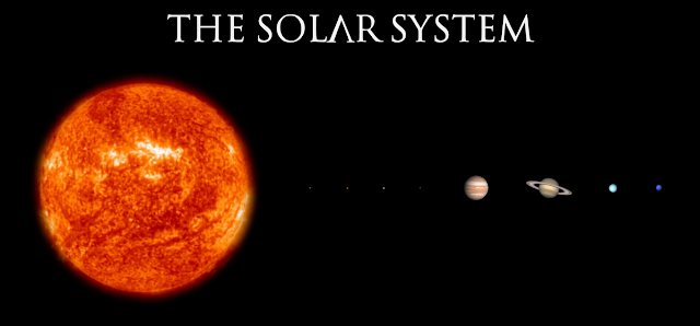 The Solar System to Scale - Ken Flerlage: Analytics ...