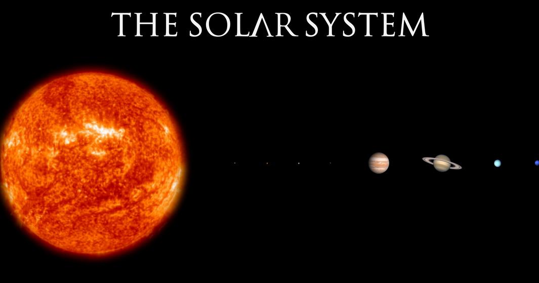 The Solar System to Scale - Ken Flerlage: Analytics ...