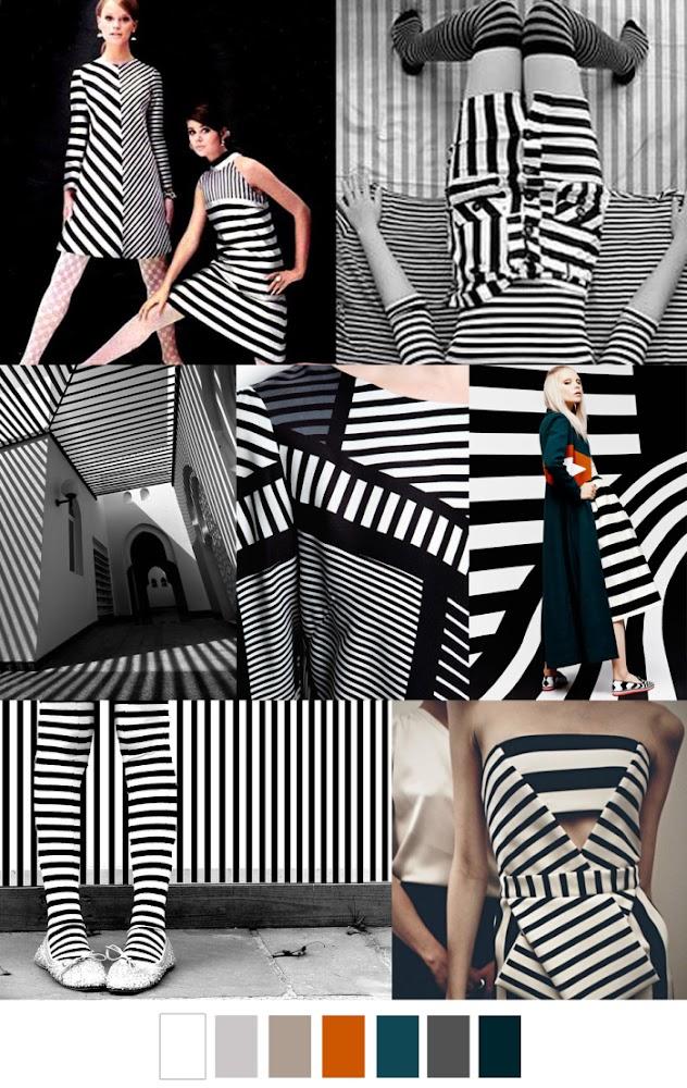 Fashion Vignette Trends Pattern Curator Graphic