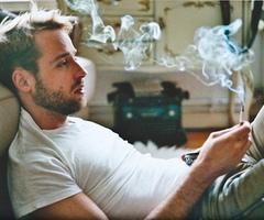 Rauchen aufgehort augen
