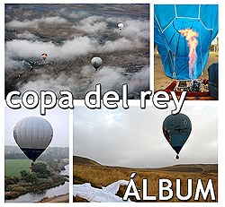 Copa del Rey Aerostación - Globos Aranjuez