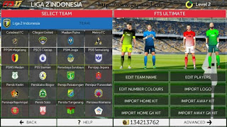 Download FTS17 Super Mod by Bayu Apk + Data