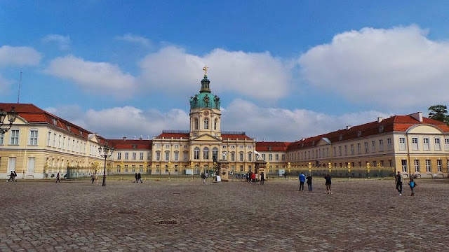 Castelo de Charlottenburg em Berlim