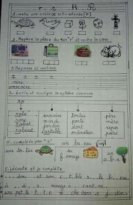 فروض في مادة اللغة الفرنسية السنة الثالثة ابتدائي الجيل الثاني